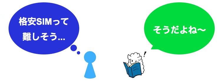 読者の悩みに共感する