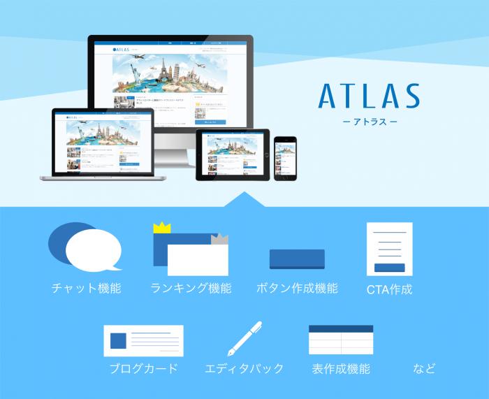 ATLASの解説インフォグラフ