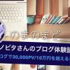 【月間30000PV】月10万円達成したノビタさんのブログ体験談